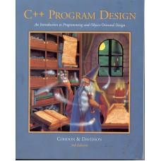 C++ PROGRAM DESIGN 3E
