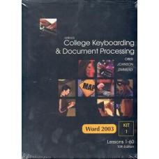 GREGG COLLAGE KEYBOARDING 1-60 KIT