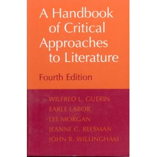 A HANDBOOK  CRITICAL APPROACHES LITERA