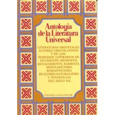 ANTOLOGIA DE LITERATURA UNIVERSAL