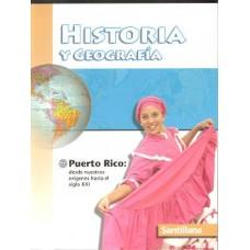 HISTORIA Y GEOGRAFIA PUERTO RICO TX