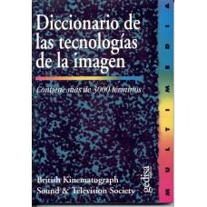 DICC DE LA TECNOLOGIA DE LA IMAGEN