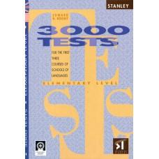 3000 TESTS ELEMENTARY LEVEL