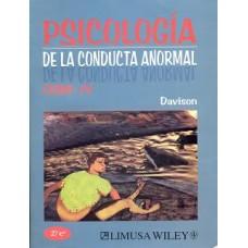 PSICOLOGIA DE LA CONDUCTA ANORMAL 2A ED