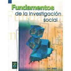 FUNDAMENTOS DE LA INTESTIGACION SOCIAL