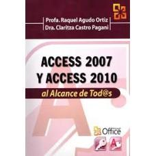 ACCESS 2007 Y ACCESS 2010 AL ALCANCE DE
