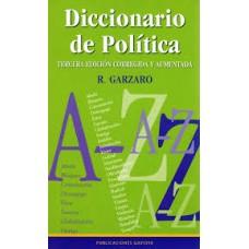 DICCIONARIO DE POLITICA