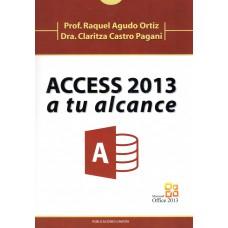 ACCESS 2013 A TU ALCANCE