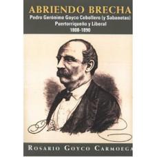 ABRIENDO BRECHAS PEDRO GERONIMO GOYCO