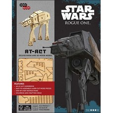 AT ACT DELUXE BOOK AND 3D WOOD STAR WARS