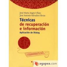 TECNICAS DE RECUPERACION INFORMACION